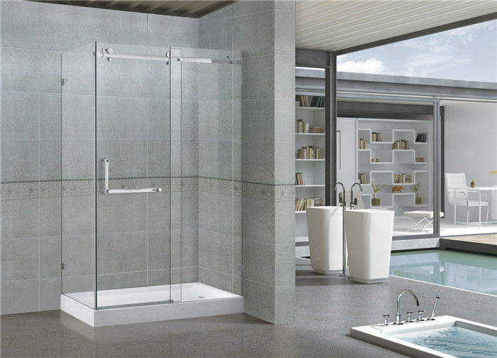 Customized 900x1200 Rectangular Shower Cubicles 8MM Glass SGCC Certification